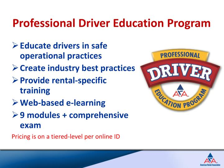 Professional Driver Education