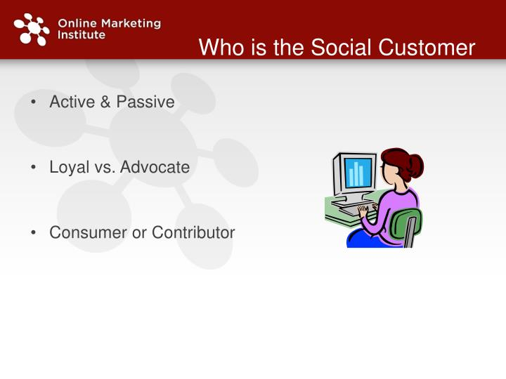 Who is the Social Customer
