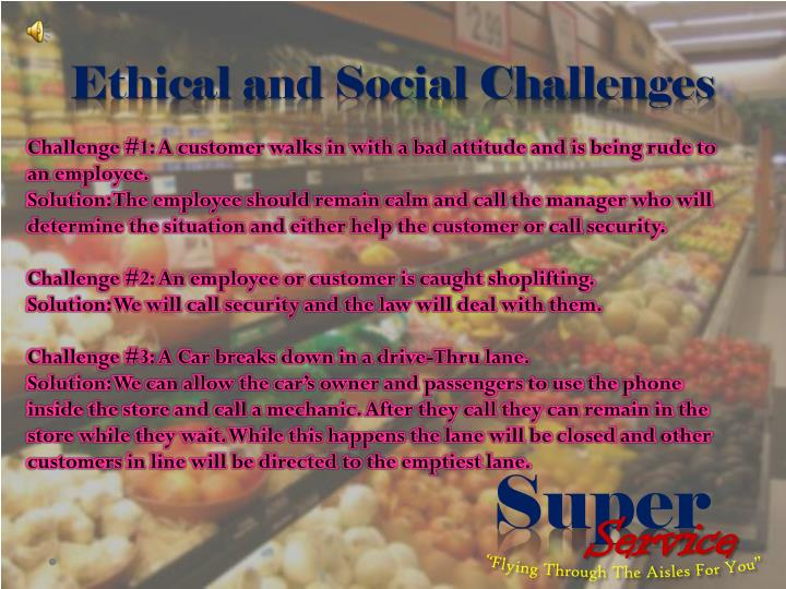 Ethical and Social Challenges