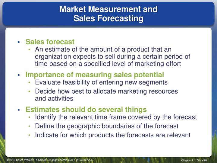 Market Measurement and