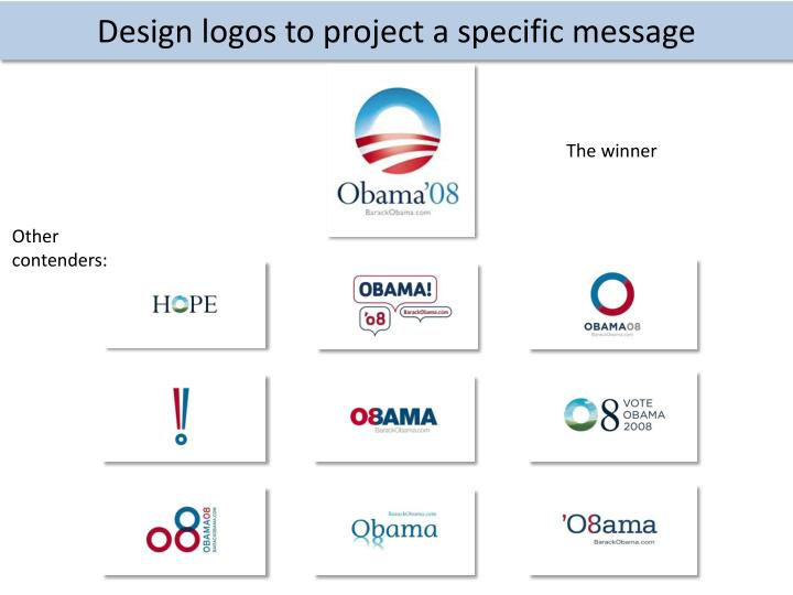 Design logos to project