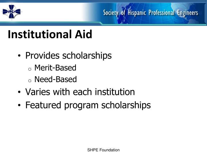 Institutional Aid