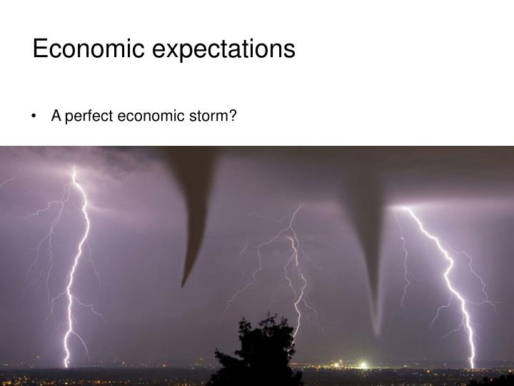 Economic expectations