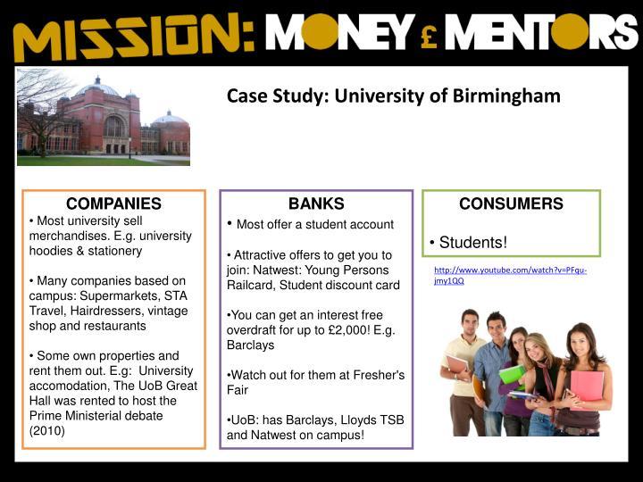 Case Study: University of Birmingham