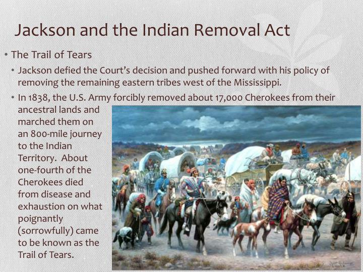 Indian Removal Act PPT - The Age o...