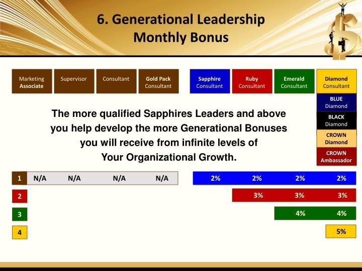 6. Generational Leadership