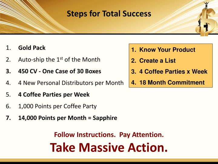 Steps for Total Success