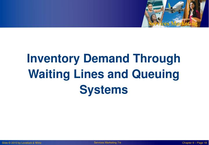 Inventory Demand Through Waiting Lines and Queuing Systems