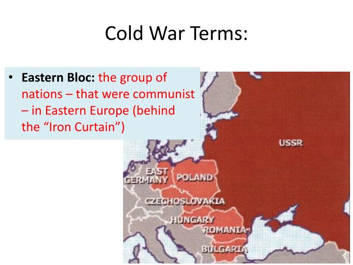 Cold War Terms: