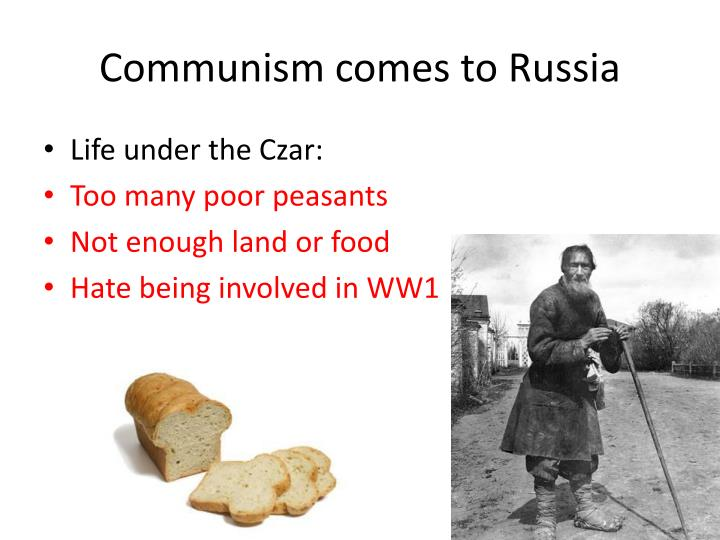 Communism comes to Russia