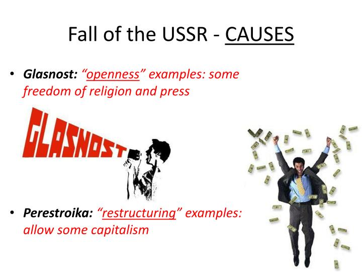 Fall of the USSR -