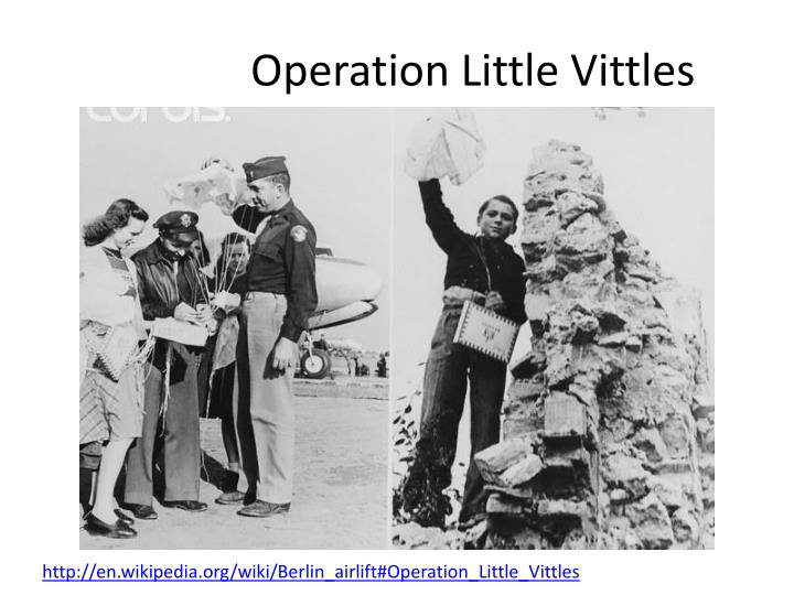 Operation Little Vittles