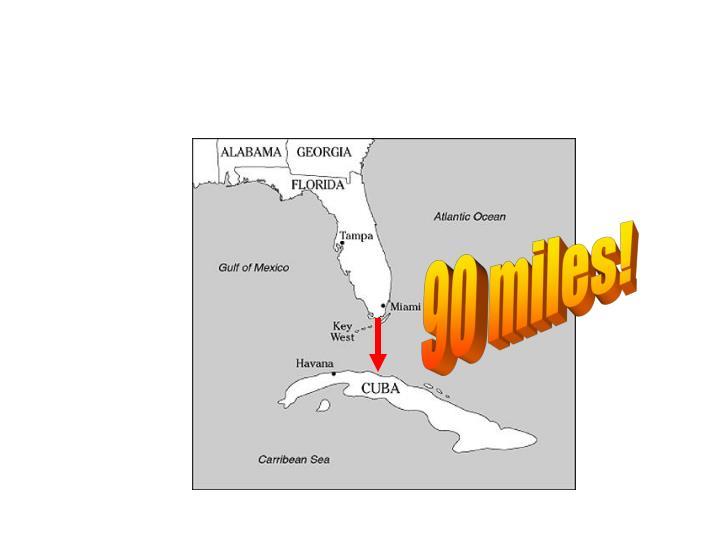 90 miles!