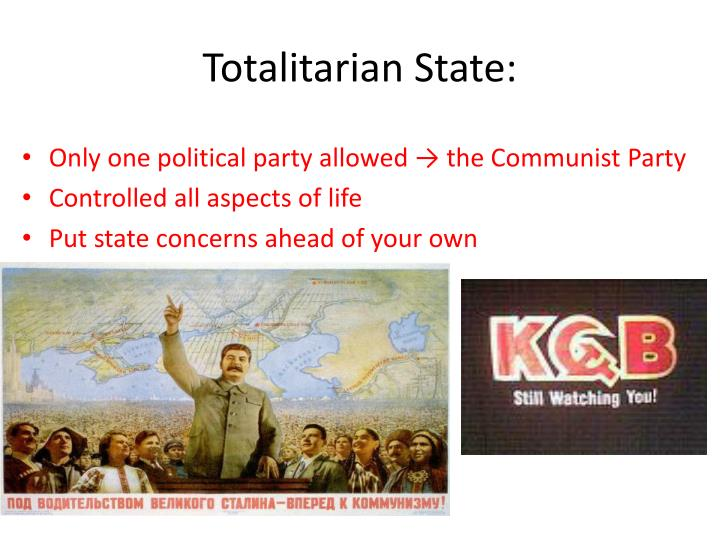 Totalitarian State: