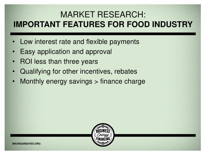 Market research: