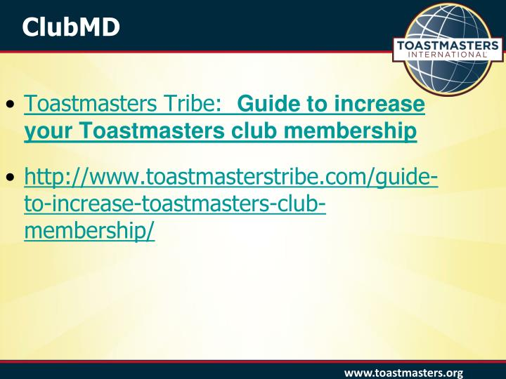 Toastmasters Tribe:
