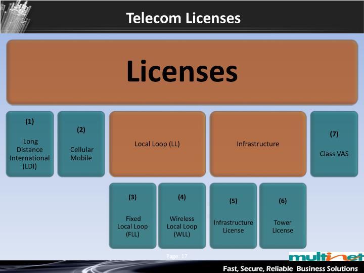 Telecom Licenses