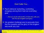 god calls you