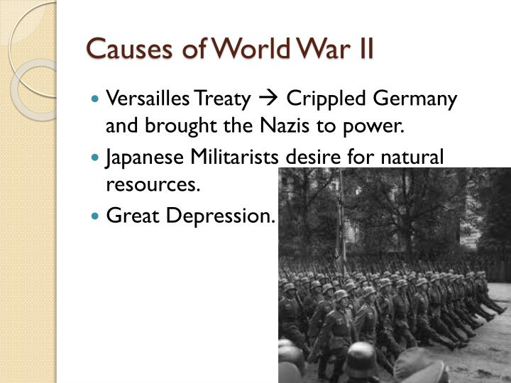 Causes of world war ii