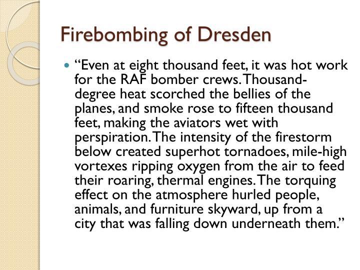 Firebombing of Dresden