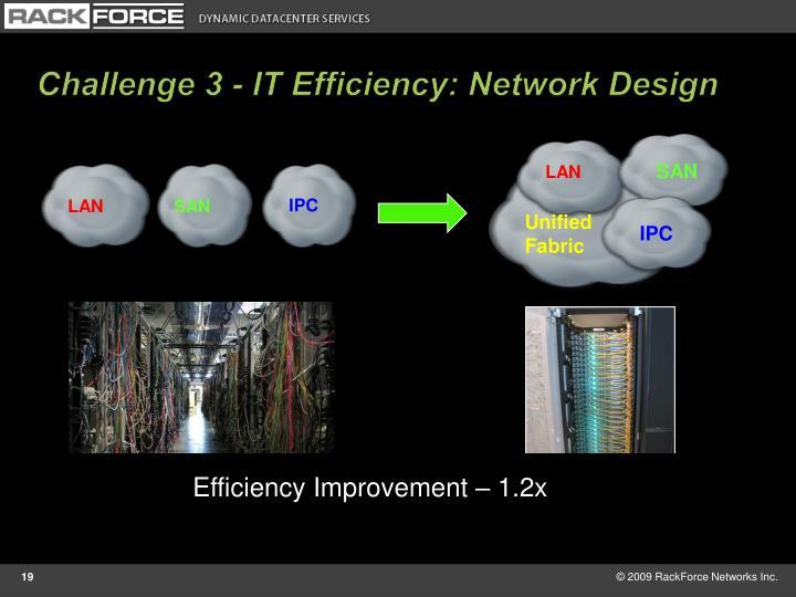 Challenge 3 - IT Efficiency: Network Design