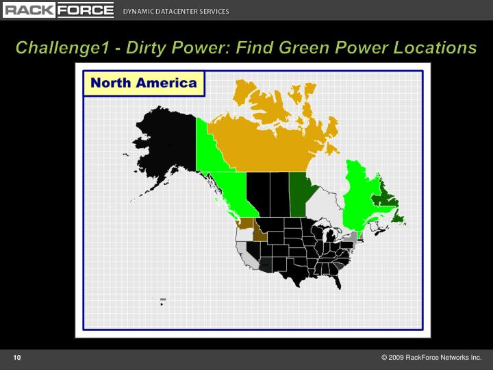 Challenge1 - Dirty Power: Find Green Power Locations