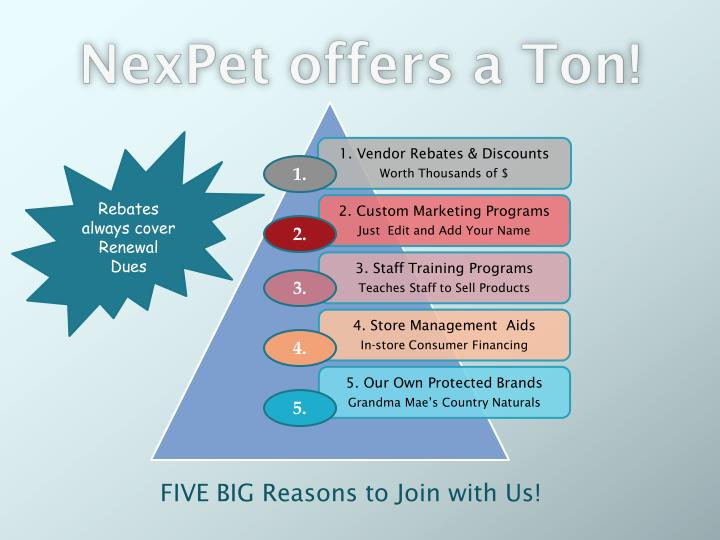 NexPet offers a Ton!