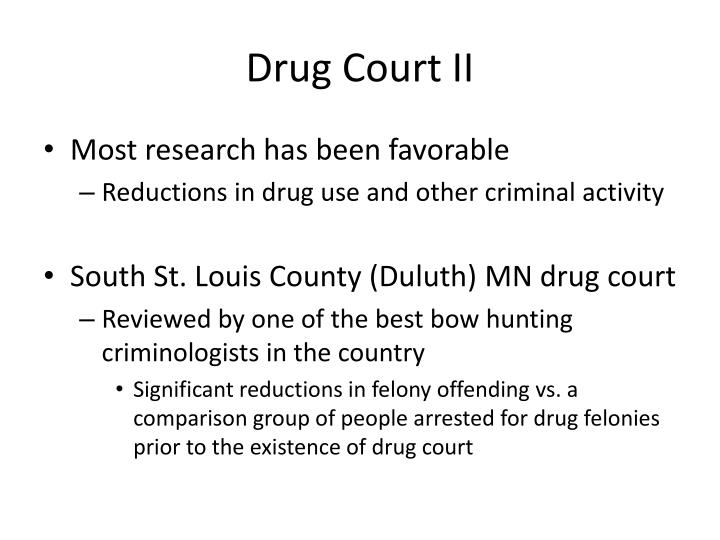 Drug Court II