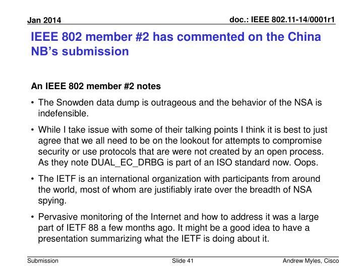 IEEE 802 member