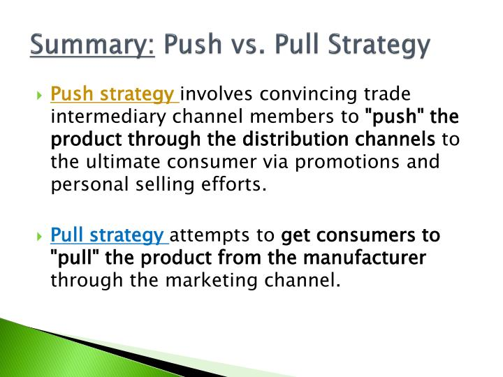 walmart push and pull promotion