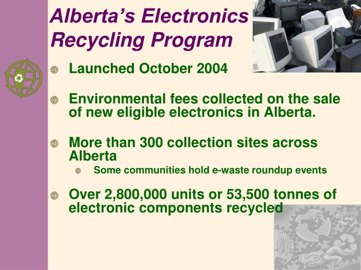 Alberta's Electronics