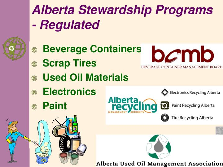 Alberta Stewardship Programs