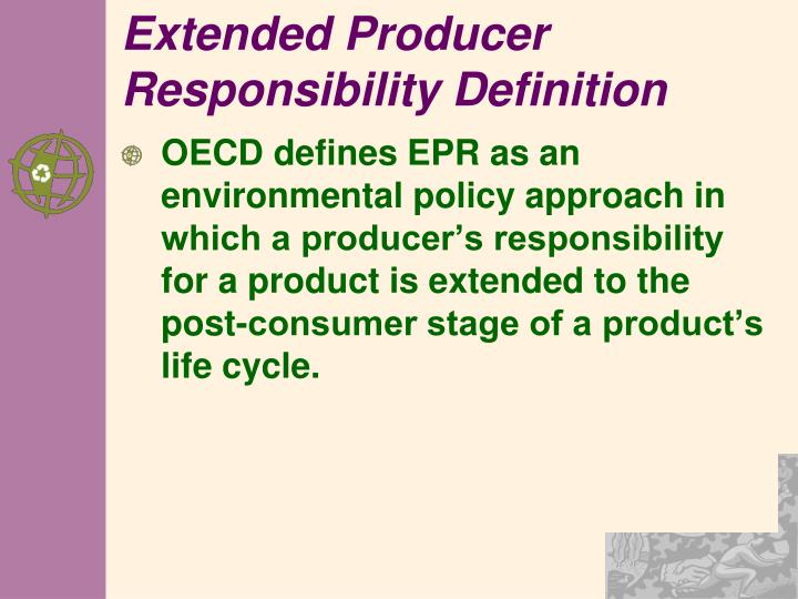 Extended Producer Responsibility Definition