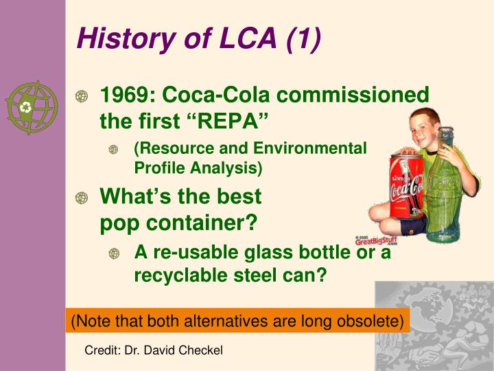 History of LCA (1)