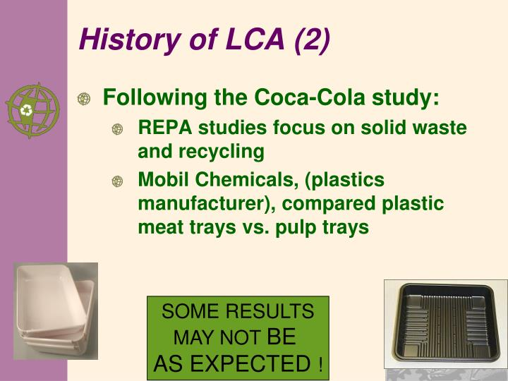 History of LCA (2)
