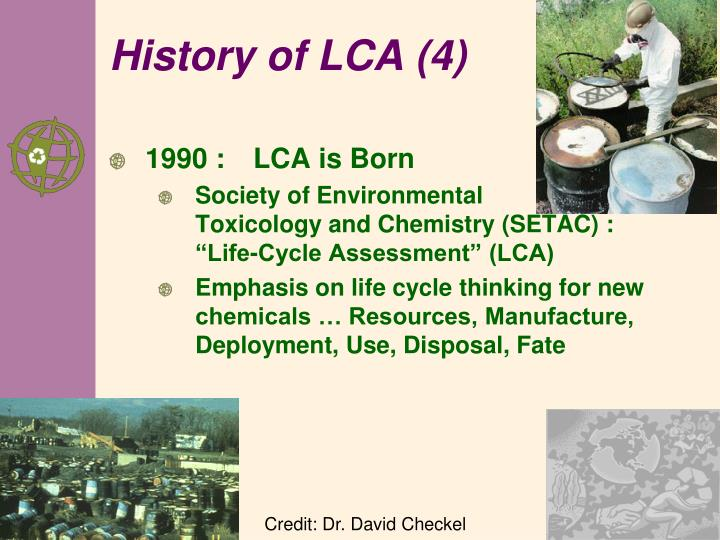 History of LCA (4)