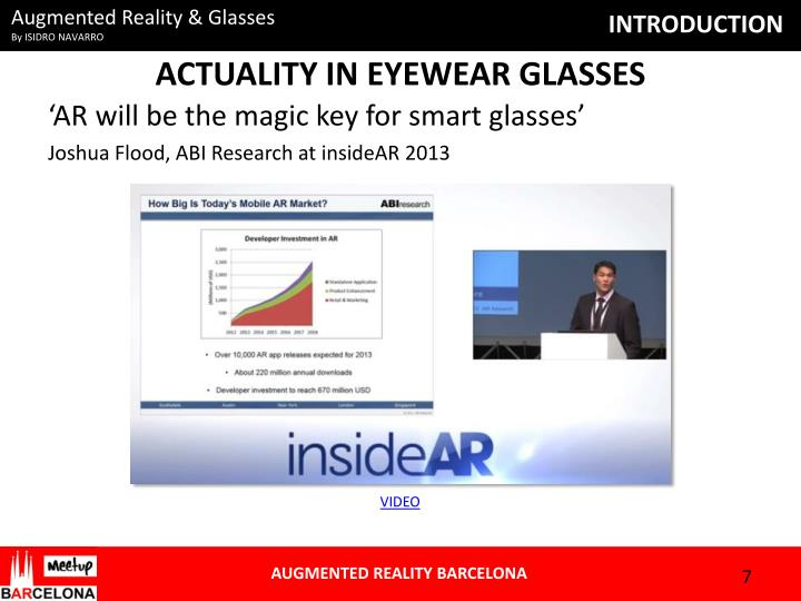 ACTUALITY IN EYEWEAR GLASSES