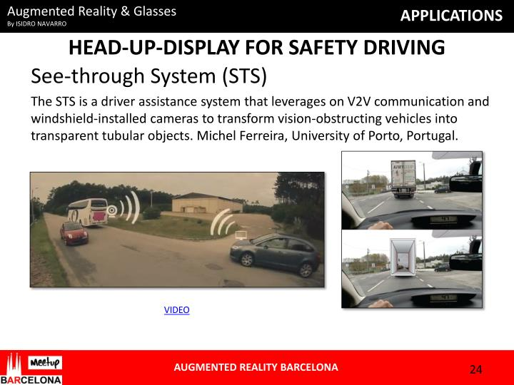 HEAD-UP-DISPLAY FOR SAFETY DRIVING
