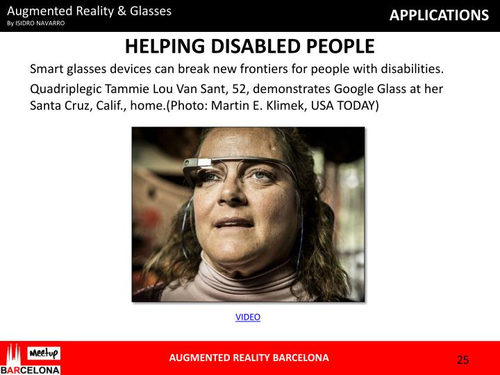 HELPING DISABLED PEOPLE