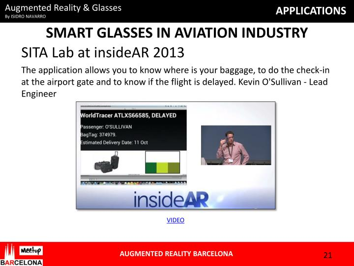 SMART GLASSES IN AVIATION INDUSTRY