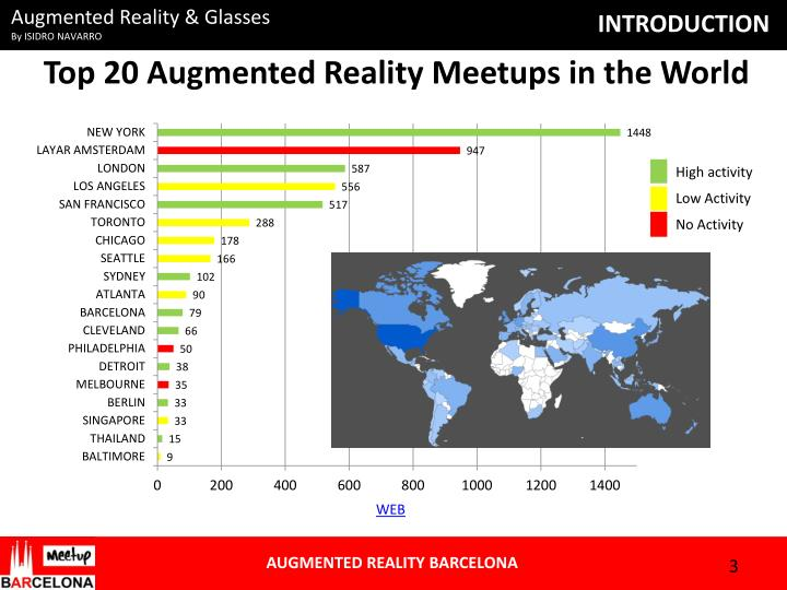 Top 20 augmented reality meetups in the world