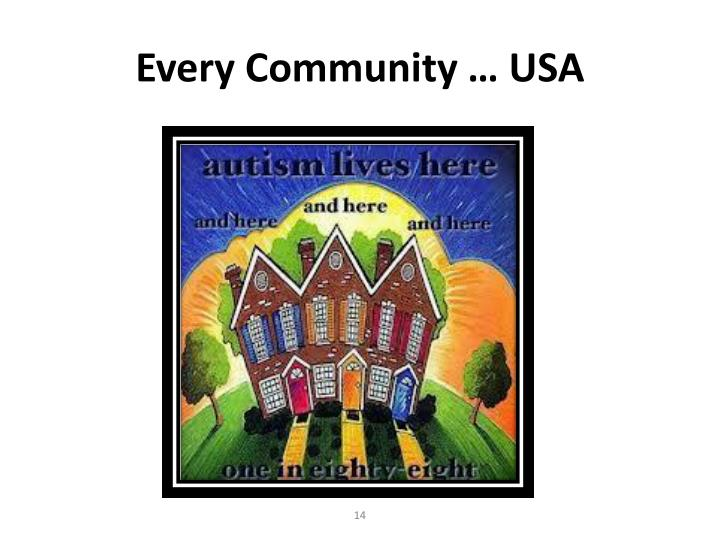 Every Community … USA