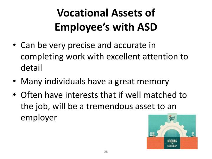 Vocational Assets of