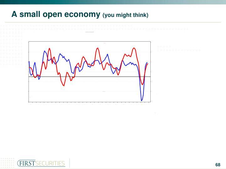 A small open economy