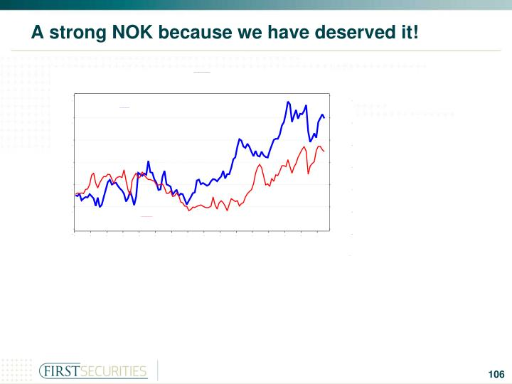 A strong NOK because we have deserved it!
