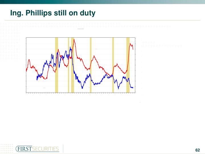 Ing. Phillips still on duty