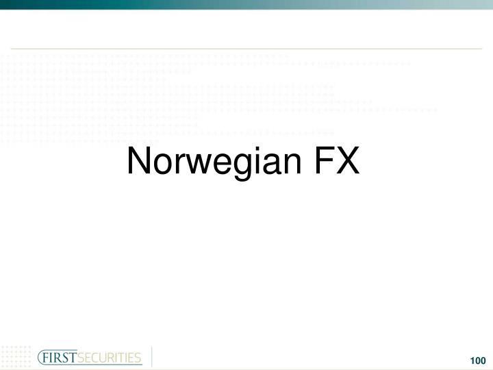 Norwegian FX