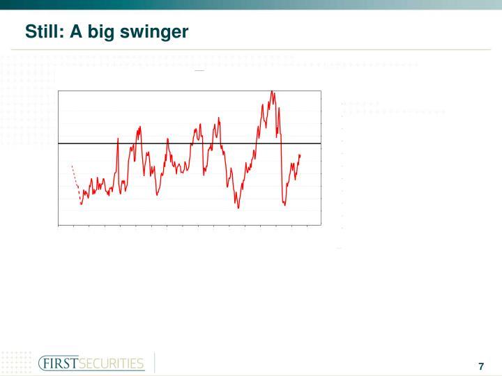 Still: A big swinger