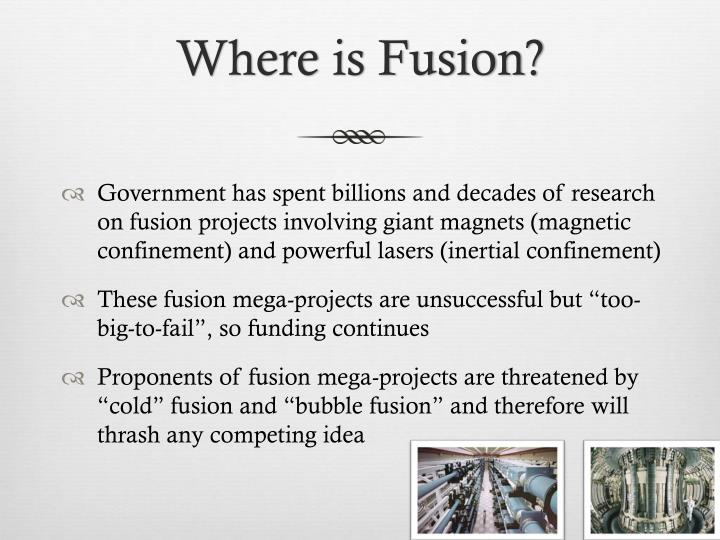Where is Fusion?