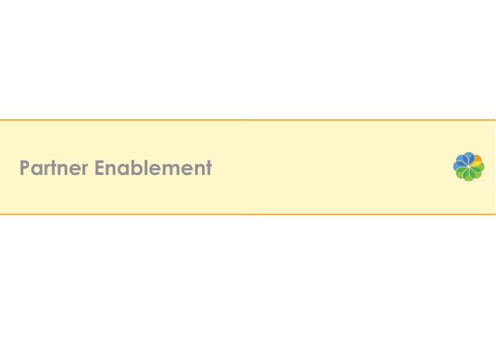 Partner Enablement